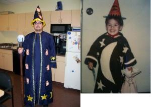 I've always been a wizard